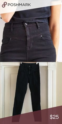 """BDG High Waist jeans These are super cute vintage style jeans but I have to re-posh because they are too small, I'd say they are closer to a 28. No issues - good used condition. The length says 29"""" but from crotch to ankle it measures 27.5"""". Urban Outfitters Jeans Skinny"""