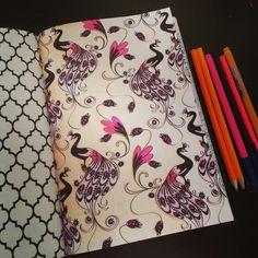 Het tweede enige echte kleurboek voor volwassenen: roze pauw