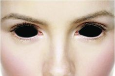 Sclera Halloween Crazy Contact Lenses Kontaktlinsen contact lens color ONE PAIR Halloween Eye Contacts, Halloween Eyes, Halloween 2017, Halloween Party, Black Contact Lenses, Coloured Contact Lenses, Colored Eye Contacts, White Eyes, All About Eyes