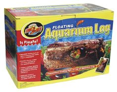 Zoo Med Floating Aquarium Log, Large *** You can find out more details at the link of the image.