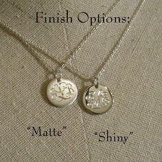 monogram necklace!