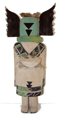 Amazing 1930s Crow Mother Kachina | Kilgore American Indian Art