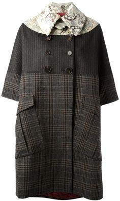 Antonio Marras Gray Oversized Coat