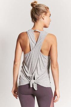 Active Tie-Back Top | Forever21 FitnessApparelExpress.com ♡ Women's Workout Clothes | Yoga Tops | Sports Bra | Yoga Pants | Motivation is here! | Fitness Apparel | Express Workout Clothes for Women | #fitness #express #yogaclothing #exercise #yoga. #yogaapparel #fitness #diet #fit #leggings #abs #workout #weight