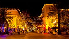 Espanola Way in South Beach