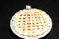 """""""The Apple of My Eye Pie"""" - First place winner in the Apple pie category, Amateur division in the 2012 APC/Crisco National Pie Championships!"""