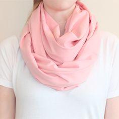 DIY Circle scarf