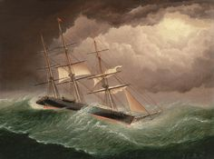 The Storm, James Buttersworth