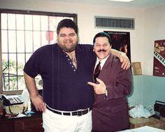 Johnny with Pedro Arroyo