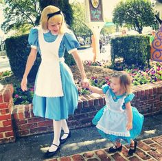 My Dearest Friend If You Dont Mind Id Like To Join You By Your - Mom creates the most adorable costumes for her daughter to wear at disney world