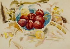 Charles Demuth Seven Plums in a Chinese Bowl 1923