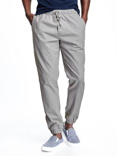 Twill Joggers for Men