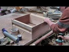 ▶ How To Make Rose Bee Hive Boxes - The bee hive I use... my technique and results aren't as swish as this lol