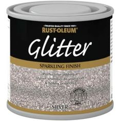Rust-Oleum Glitter Silver Paint - 125ml                                                                                                                                                                                 More