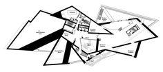 Denver Art Museum by Daniel Libeskind - Third Floor Plan. Pffff ♥