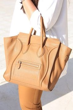06cc6467be Celine Mini Luggage in Camel. I m usually not one to get sucked into