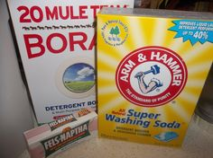 Homemade Laundry soap in less than 10 minutes!