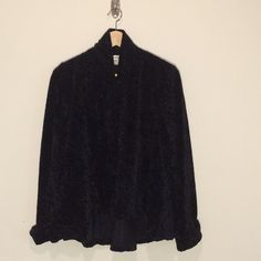 Plush feel cover all Polyester open shawl. Can fit up to medium. Extremely comfy! Sweaters Shrugs & Ponchos