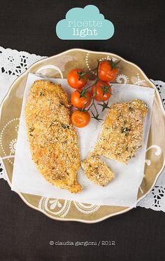 cotolette di pollo al forno