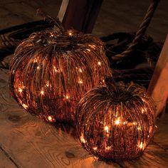 grapevine pumpkins