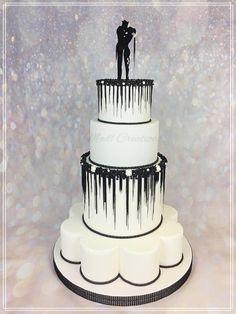 wedding cake  Joker & Harley Quinn by Cindy Sauvage