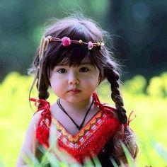 Boho kid: cute