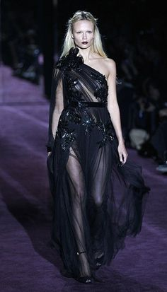 A dark glamorous collection for Gucci autumn/winter 2012