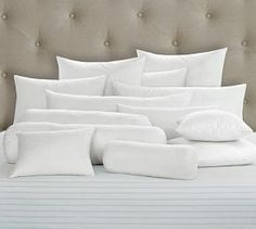 Synthetic Bedding Pillow Inserts #Pottery Barn