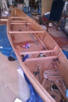 How to build a pirogue