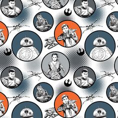 Star Wars The Force Awakens Badges White Camelot cotton Fabric by the yard Star Wars Fabric, Fabric Stars, Cotton House, Disney Fabric, Keepsake Quilting, Cotton Quilting Fabric, Disney Star Wars, Quilt Kits