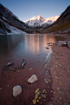 Maroon Bells Sunrise II, Aspen, CO Copyright: Ben Klea