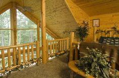 wooden platform bedroom