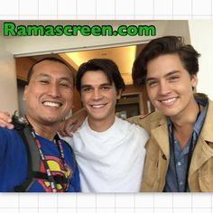 Rockin' it with K.J Apa and Cole Sprouse at #sdcc #sdcc2016 #comiccon #comiccon2016 #kjapa #colesprouse #riverdale #Archie