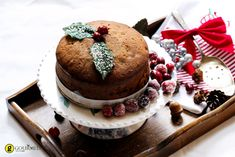 10 Christmas cakes you'll actually want to bake , Rich Christmas Cake recipe. Fruit Cake Mix, Traditional Christmas Desserts, Pecan Nuts, Baking Tins, Retro Recipes, Cake Tins, Cake Recipes, Bakery, Sweet