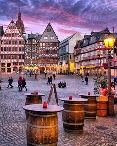 "soul-of-an-angel: ""Frankfurt, Germany (Europe) "" Cities In Germany, Visit Germany, Germany Europe, Germany Travel, Places To Travel, Places To See, Travel Destinations, Travel Europe, Germany Photography"