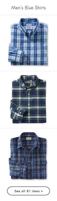 """Men's Blue Shirts"" by eternalfeatherfilm on Polyvore featuring men's fashion, men's clothing, men's shirts, men's casual shirts, blue, mens casual button down shirts, mens pocket t shirts, mens casual short-sleeve button-down shirts, mens long sleeve casual shirts and mens button shirts"