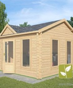 "Ref: 611 ""Ashford"" Log Cabin x Cabin size internal - x Bedroom size - x Bathroom size - x Pantry size - x Kitchen size - x Window S Large Windows, Windows And Doors, Kitchen Size, Window Sizes, Bedroom Size, Tiny House Cabin, Little Cabin, Roofing Materials, Interior Walls"