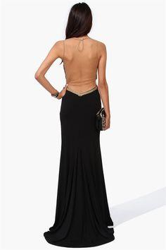 Oscar Ready Gown in Black