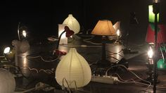HAJA LUZ is a diabolical machine that has being built to control and manipulate dozens of home lamps in stage. It is an audio-reactive device made for the stagedesign… Audio, Table Lamp, Lighting, Home Decor, Table Lamps, Decoration Home, Room Decor, Lights, Home Interior Design