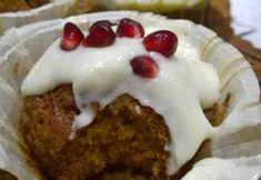Porkkanamuffinit Cupcake, Pudding, Desserts, Food, Tailgate Desserts, Meal, Cup Cakes, Dessert, Eten