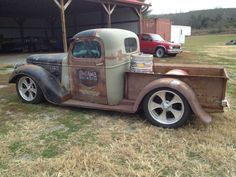 S10 Rat Rod | Other cool features include a custom beer keg as a gas tank, Air Ride ...