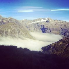 Photo by caitlin_loose  #camp #amazingview #templebasin #freezing #beautiful #mountains #clouds #perfectday