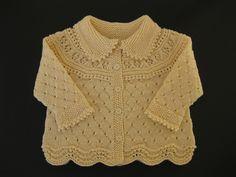 Ravelry: Jacket, pants, hat, socks, blanket pattern by DROPS design Cardigan Bebe, Knitted Baby Cardigan, Knit Baby Sweaters, Baby Pullover, Knitted Baby Clothes, Girls Sweaters, Baby Knits, Baby Sweater Patterns, Baby Knitting Patterns