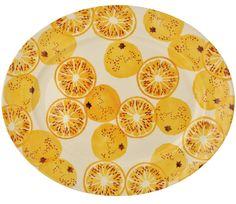 Emma Bridgewater Toast & Marmalade -  Marmalade Medium Oval Platter £49.95