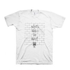 Night's Watch the Wall Game of Thrones Cotton T-Shirt | IdolStore