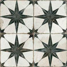 EliteTile Rama x Porcelain Honeycomb Mosaic Wall & Floor Tile Ceramic Floor Tiles, Wall And Floor Tiles, Wall Tiles, House Tiles, Floor Patterns, Wall Patterns, Star Patterns, Mosaic Patterns, Mandarin Stone