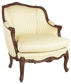 Louis J Solomon Xv Bergere Traditional Armchairs Furniture Upholstery Antique Decor