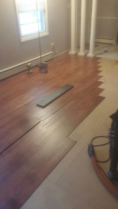 Allure Traffic Master Vinyl Plank Flooring Family Room