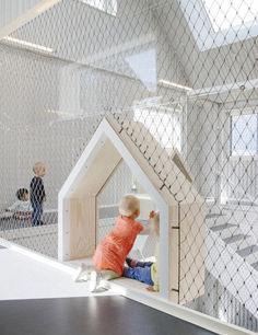 Delightful Modern Kids Cafe Interior Idea 57