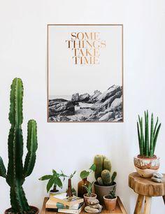 some things take time.